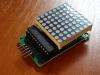 Wyświetlacz matrycowy LED - MAX7219
