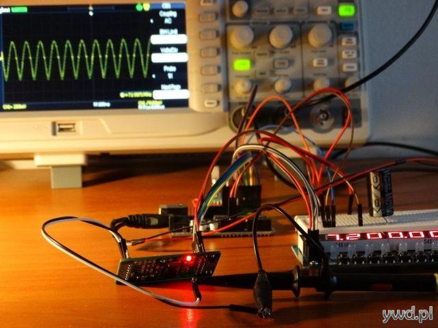 DDS AD9850 + Arduino + Encoder