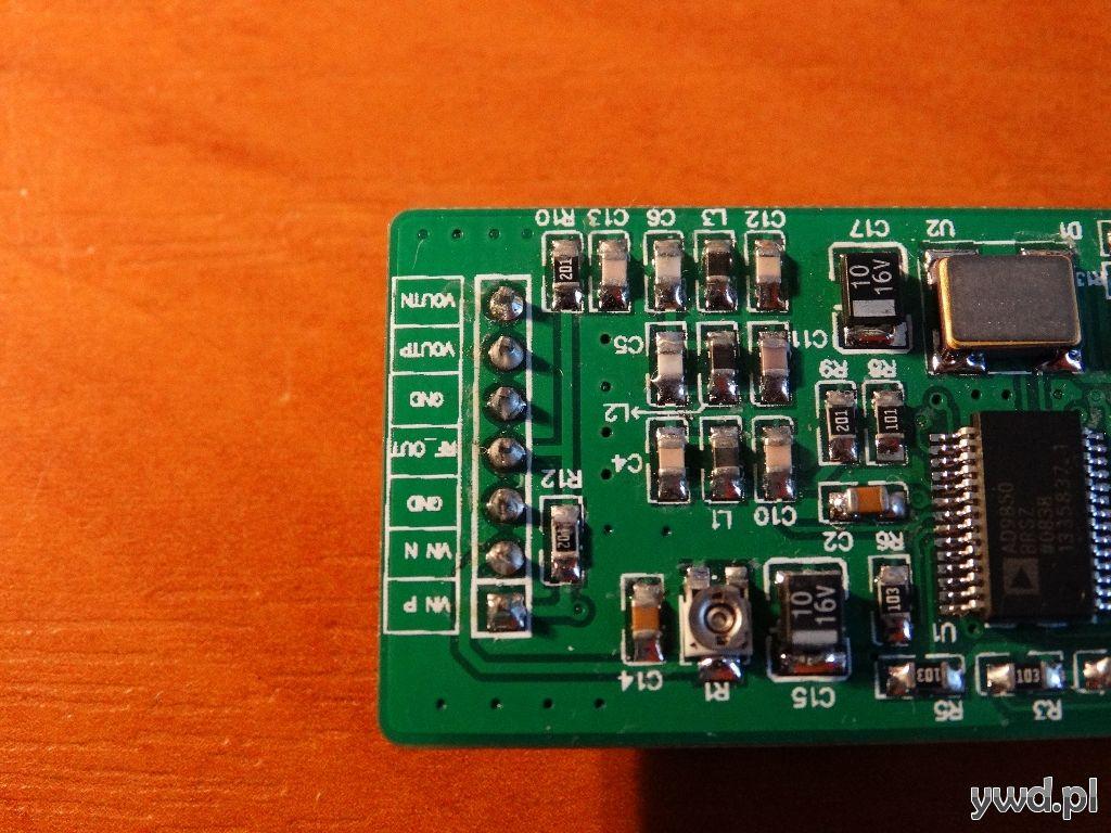 DDS AD9850 i Arduino – wyśw  LED – Elektronika, radiotechnika