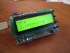 Shield LCD 2x16 + 4 Switch + LM35 + Buzzer + 4 LED