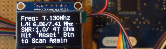 Analizator antenowy - Arduino