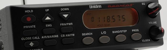Scaner Uniden UB355CLT
